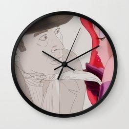 Bob Hoskins Wall Clock