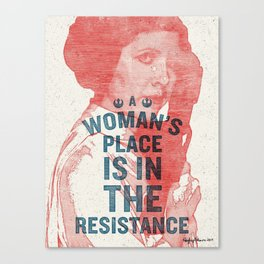 A Woman's Place Canvas Print