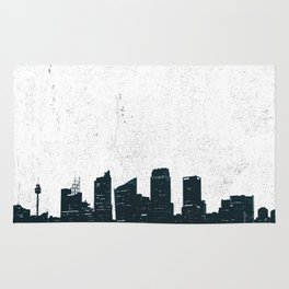 Sydney Australia, City Skyline New South Wales Rug