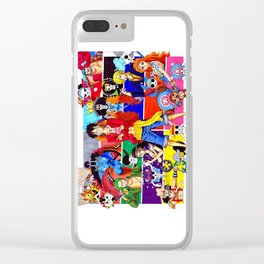 Straw Hat Crew Clear iPhone Case