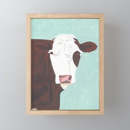 A Heifer Named Tribal Framed Mini Art Print