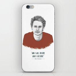 "Ben Howard ""The Fear"" iPhone Skin"