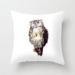 Eule Throw Pillow