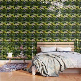 Greenery Pond Wallpaper