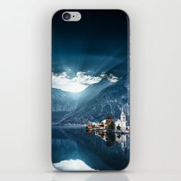 hallstatt in austria iPhone Skin