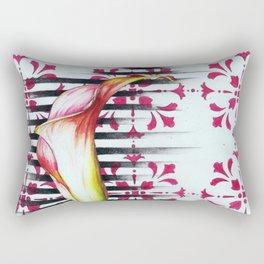 Calla Lily Rectangular Pillow