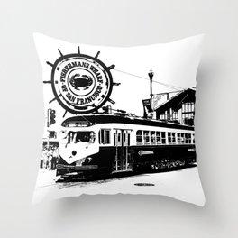 Fisherman Wharf, San Francisco Throw Pillow