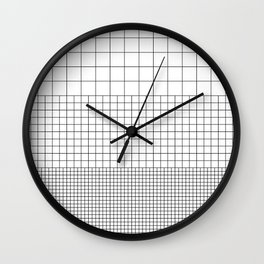 3 Grids Wall Clock