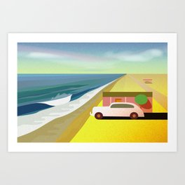 Mexican Honeymoon 2 Art Print