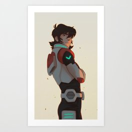 best pilot - Keith Art Print