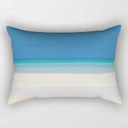 Dreamt Tropical Beach Design Rectangular Pillow