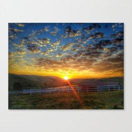 Sunrise on September 15th Canvas Print