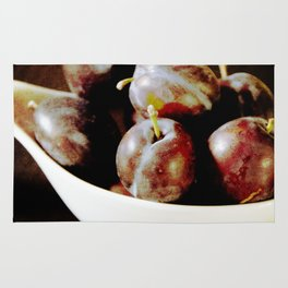 Franconian plums Rug
