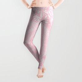 Medallion Pattern in Blush Pink Leggings