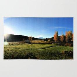 Sunrise with Mount Sopris - Glenwood Springs, CO Rug