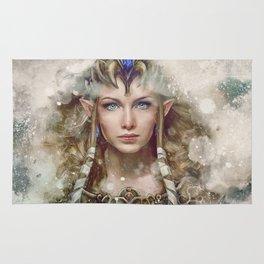Epic Princess Zelda from Legend of Zelda Painting Rug