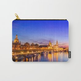 Dresden old town skyline, Germany Carry-All Pouch