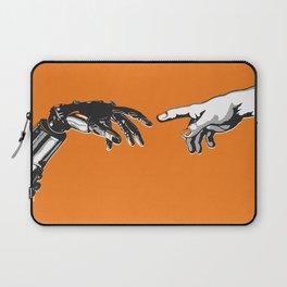 Creation 2.0 Classic Art Reimagined AI Sci Fi Print Laptop Sleeve