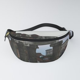 Roman Forum and Colosseum of Rome at Sunset Fanny Pack