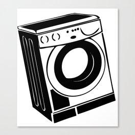Washing machine Canvas Print