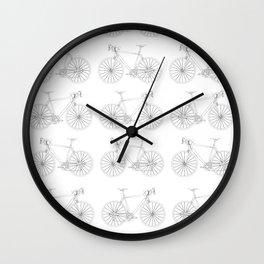 Gena (pattern) Wall Clock