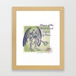 Magus of Hawk Land Framed Art Print