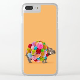 HippoPOMamus Clear iPhone Case