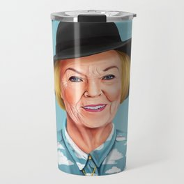 Hipstory - Queen Beatrix of the Netherlands Travel Mug