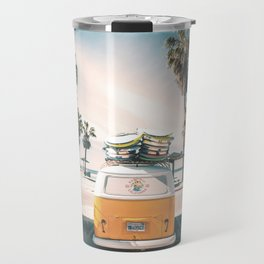Surf Van Venice Beach California Travel Mug