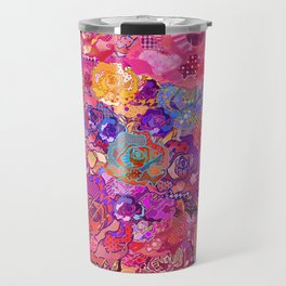 Wallflower in Sunset Travel Mug