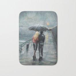 Rainy Walk Bath Mat