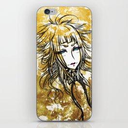 Goldenrod iPhone Skin