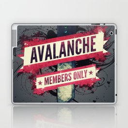Final Fantasy VII - Avalanche Member's Only Laptop & iPad Skin