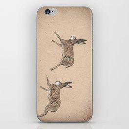 hare folk iPhone Skin