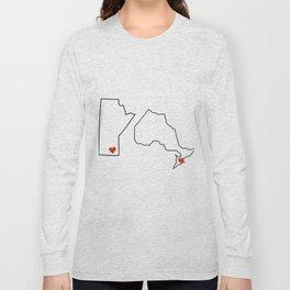 Winnipeg + Toronto Long Sleeve T-shirt