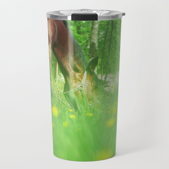 horse collection. spring Travel Mug