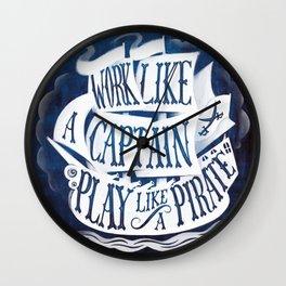 like a pirate Wall Clock