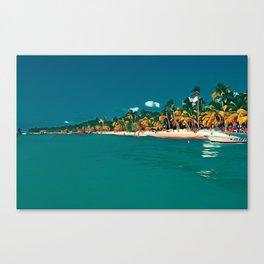Saona Island - Art 001A Canvas Print