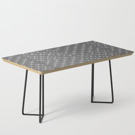 Gray and white varied vines Coffee Table