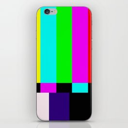 No Signal TV iPhone Skin