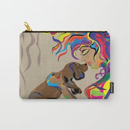 """""""Fall in Lust"""" Paulette Lust's Original, Contemporary, Whimsical, Colorful Art  Carry-All Pouch"""