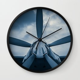 Clear Prop! Wall Clock