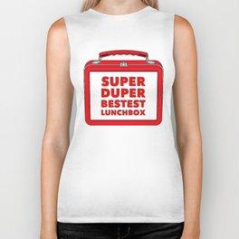 Super Duper Bestest Lunchbox Biker Tank