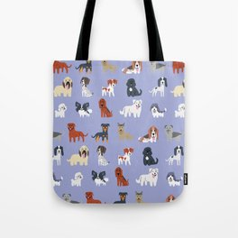 FRENCH DOGS Tote Bag