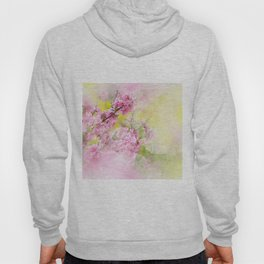 Flowers-pink, purple and yellow Hoody