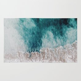 Ocean (Drone Photography) Rug
