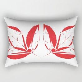 Leaf Bird Rectangular Pillow