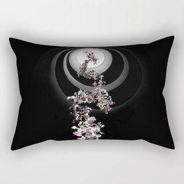 Generative Spirals Rectangular Pillow
