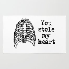 You stole my heart Rug