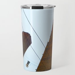 """Skyscraper"" in Bologna Travel Mug"